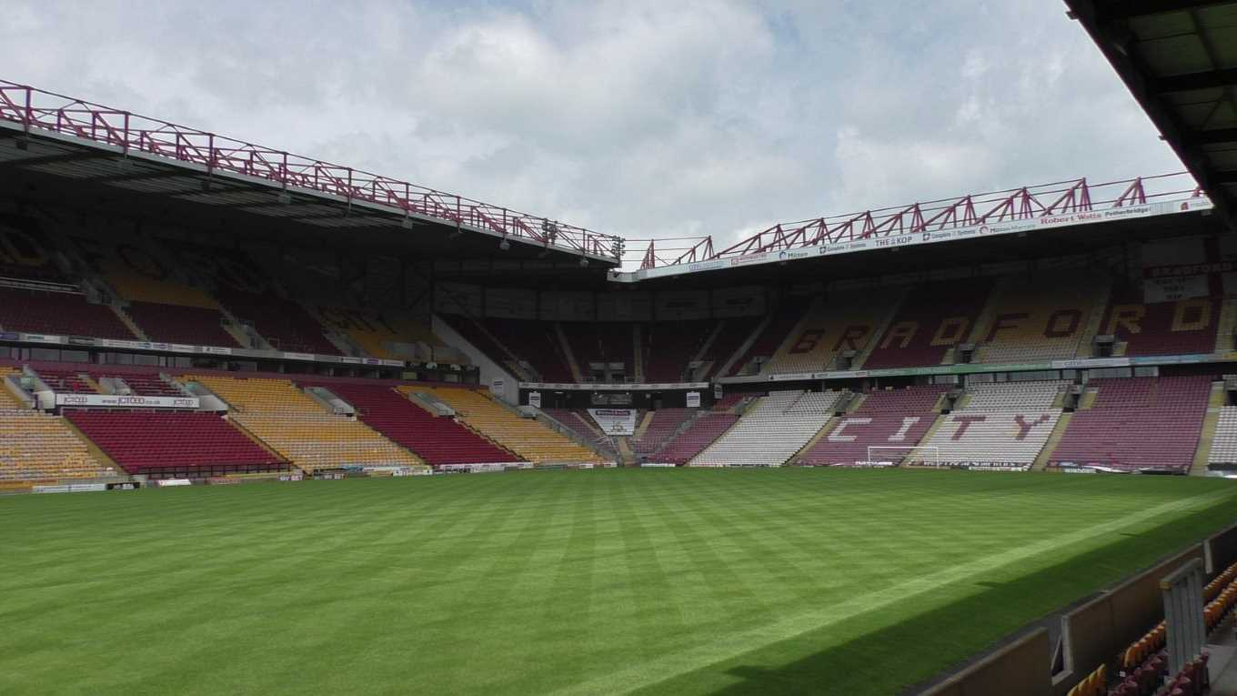 TOUR OF THE NORTHERN COMMERCIALS STADIUM - News - Bradford ...