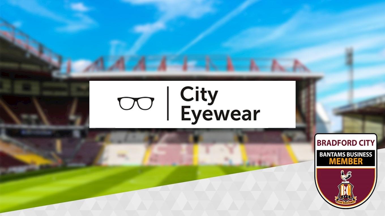 8c566bc89552 BANTAMS BUSINESS MEMBER  CITY EYE WEAR - News - Bradford City