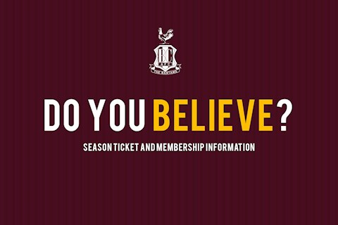 2018/2019 SEASON TICKET & MEMBERSHIP INFORMATION