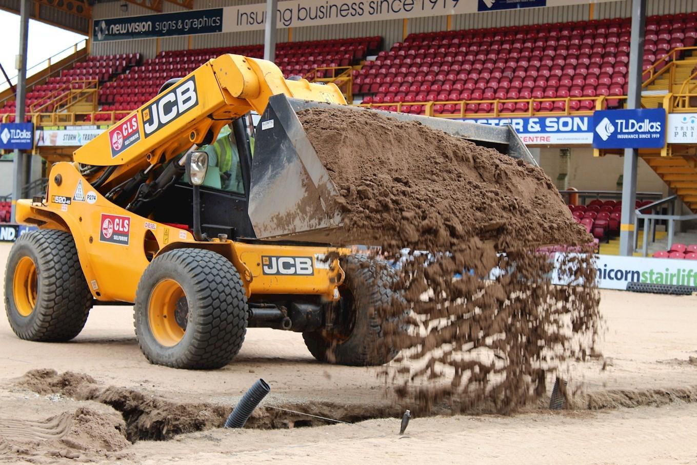 New Pitch Update - News - Bradford City