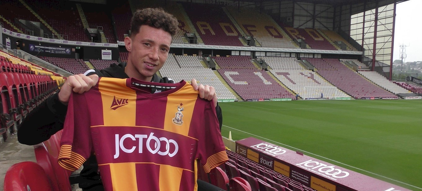 GIBSON COMPLETES CITY MOVE - News - Bradford City