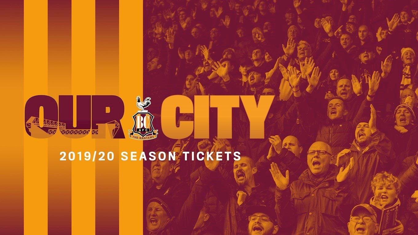 3e568ab2b PAY FOR YOUR SEASON TICKET OVER NINE MONTHS - News - Bradford City