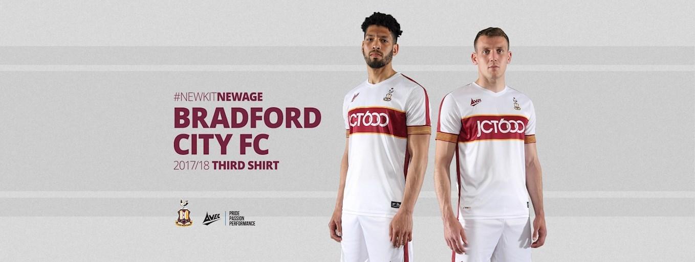 #NewKitNewAge...THIRD KIT REVEALED! - News - Bradford City